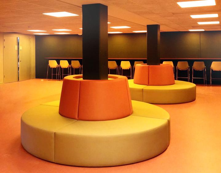 Ronde Design Banken.2kick Meubelfabriek Ronde Bank Maatwerk