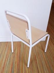 2KICK Kinderstoel Industrie Wit Frame 2