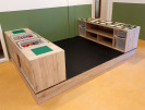 2KICK Bouwpodium Met Duplo Legotafel Bouwkast met Print Artikel