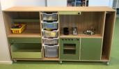 2KICK Daffy Keuken Verkleedkast