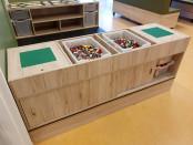 2KICK Duplo Legotafel Met Omkeerbaar Systeem Artikel