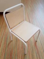 2KICK Kinderstoel Industrie Wit Frame