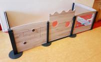 2KICK Grondbox Wandmodel 4 Panelen en Deur Artikel
